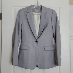 H&M Blue Gray Blazer XS